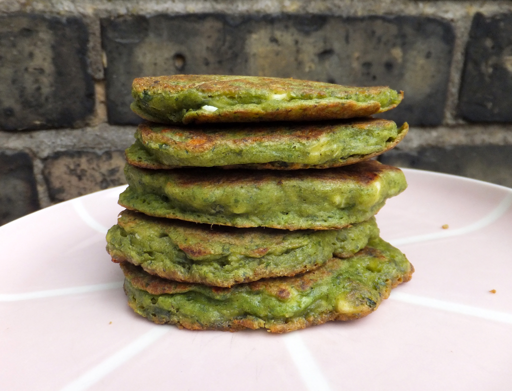 Spinach and feta fritters - CookTogether