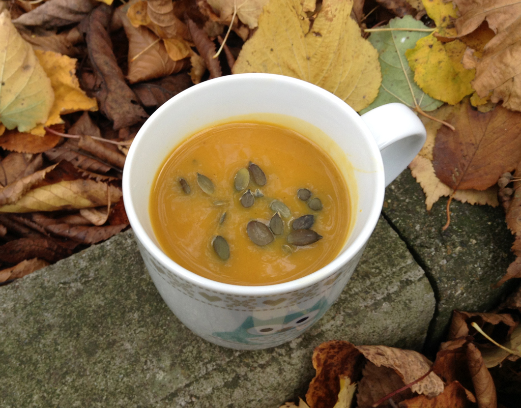 Curried butternut squash soup - CookTogether