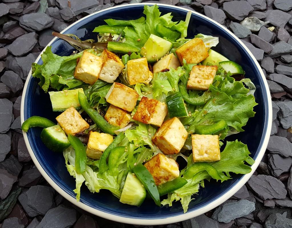 Asian style salad recipe