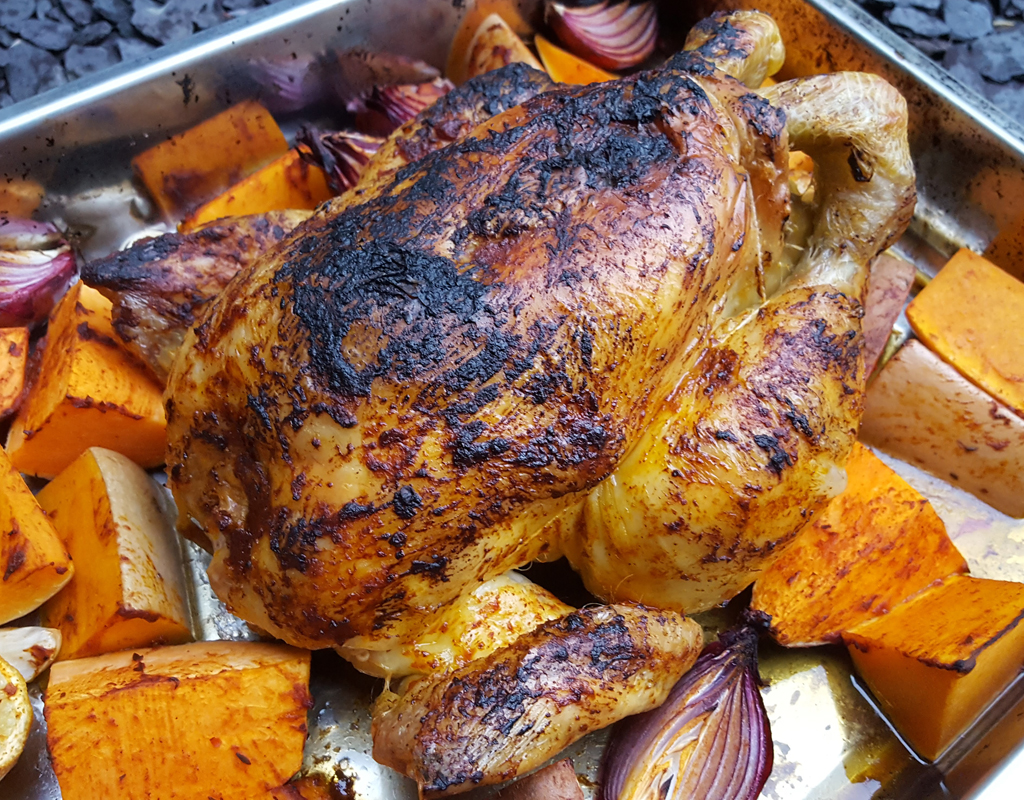 Chipotle roasted chicken